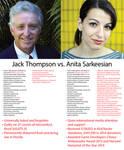 Jack Thompson vs. Anita Sarkeesian by brentcherry