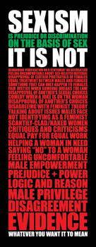Sexism by brentcherry