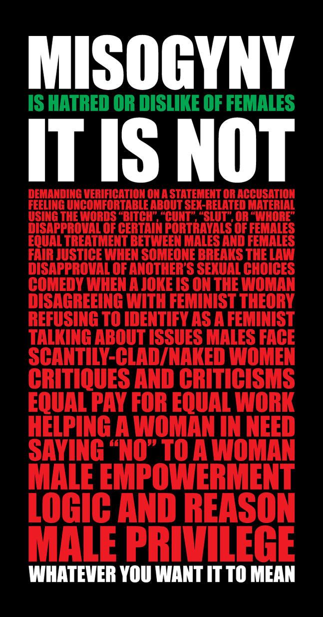 Misogynist mean