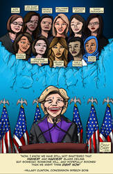 Election 2016 - Hillary and the Glass Ceiling