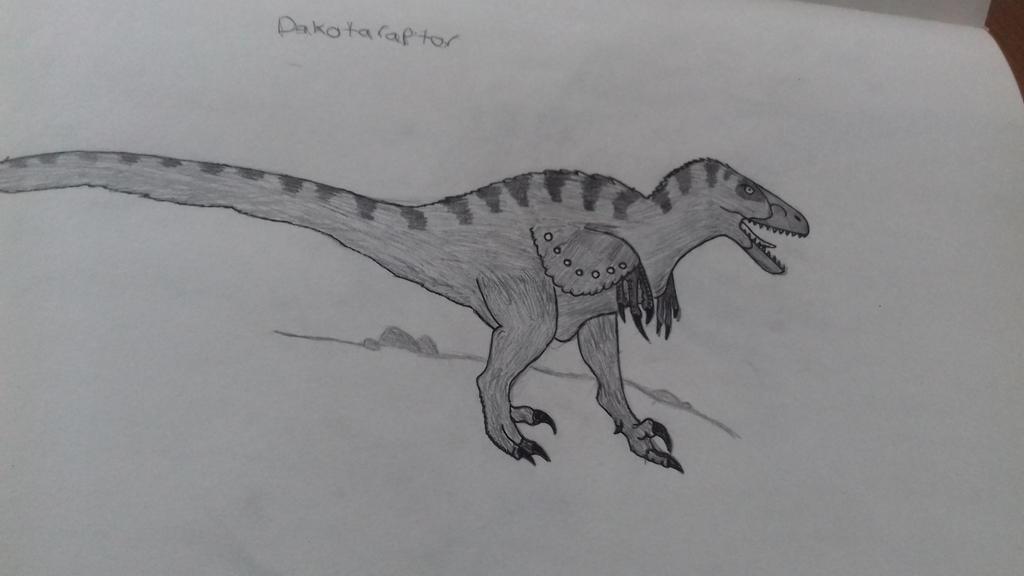 Dakotaraptor  by godzilla2030