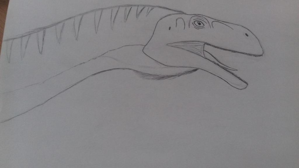 plateosaurus  by godzilla2030