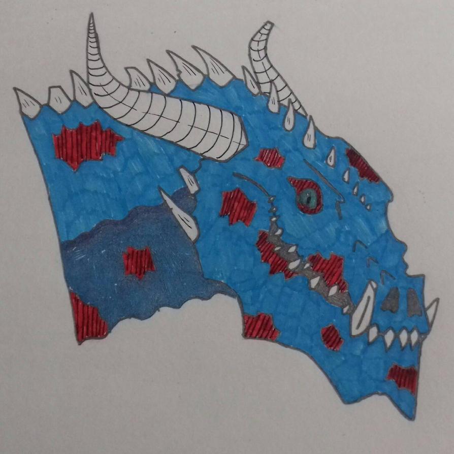 undead dragon  by godzilla2030