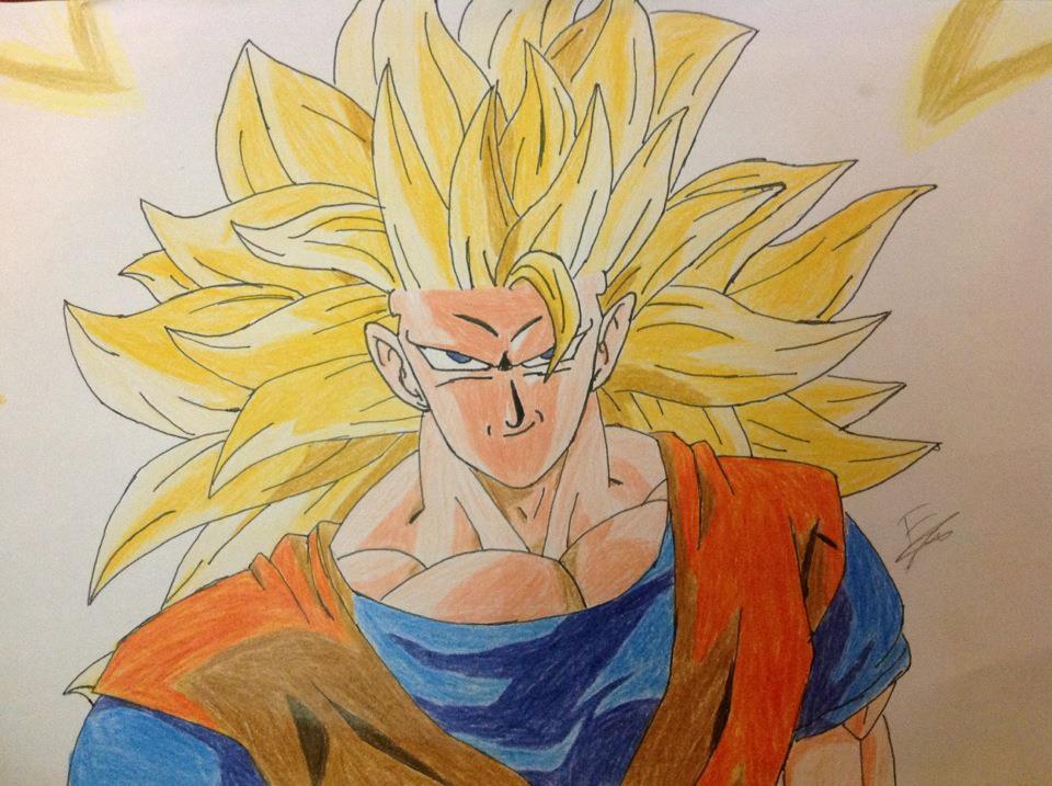 Goku SSJ 3 by fakhri821999