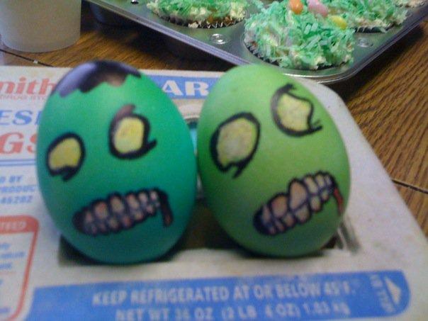 Zombie Egg 01 by Lynne2073