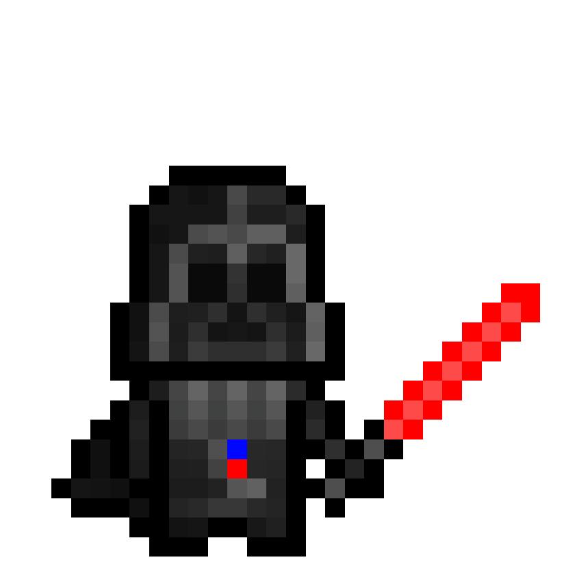 Pixel Art Darth Vader Unifeed Club