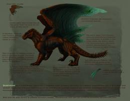 Thornback dragon