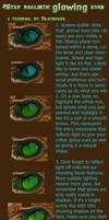 Glowing Eyes in 8 easy steps by Blackmane
