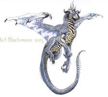 Concept dragon by Blackmane