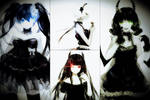 BRS, BGS, DM and STR with dress