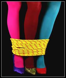 colourful legs