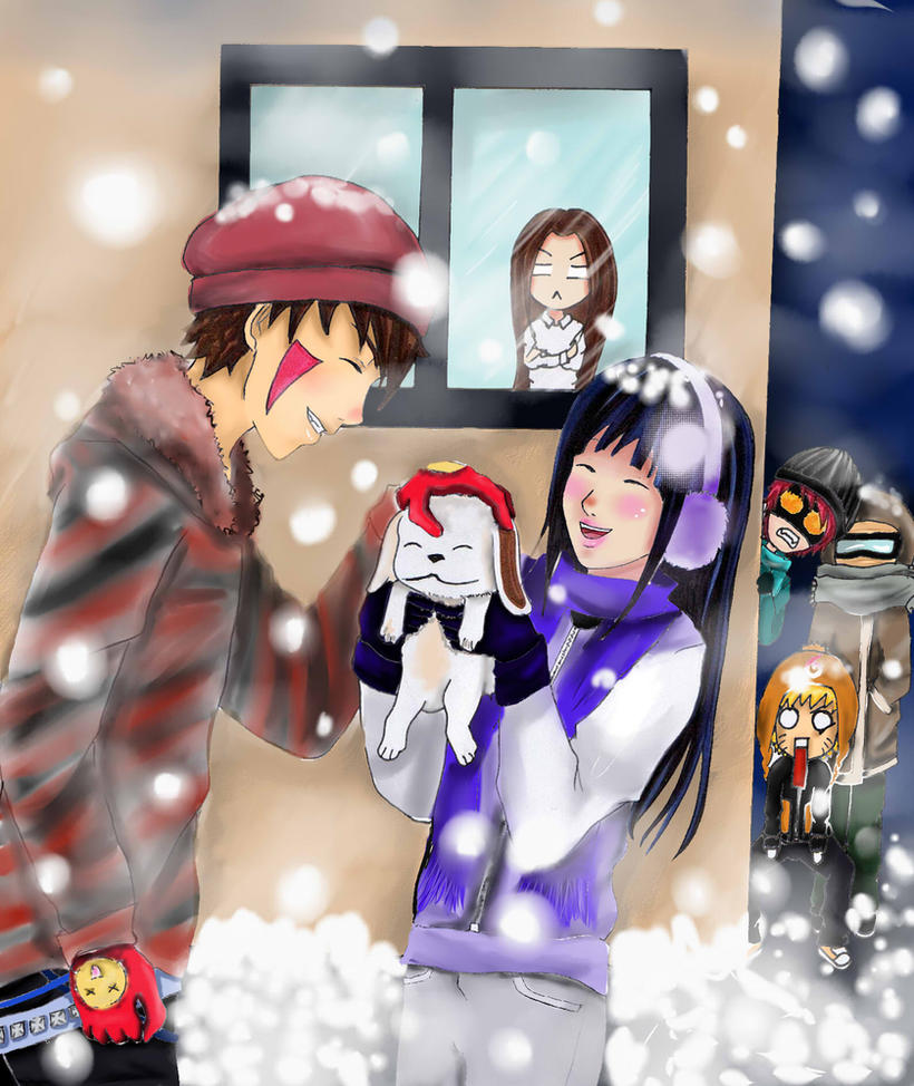 KibaHina- winter by desiderata-girl