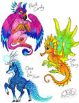 Fantasy Creature Adopts: OPEN -PRICE DROP-
