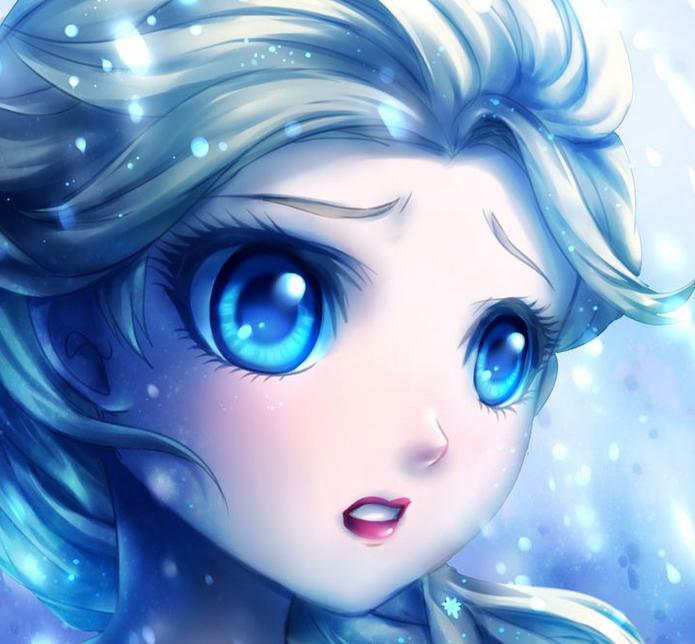 Elsa Frost Arre... Anime