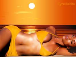 Tyra Banks by Shryi