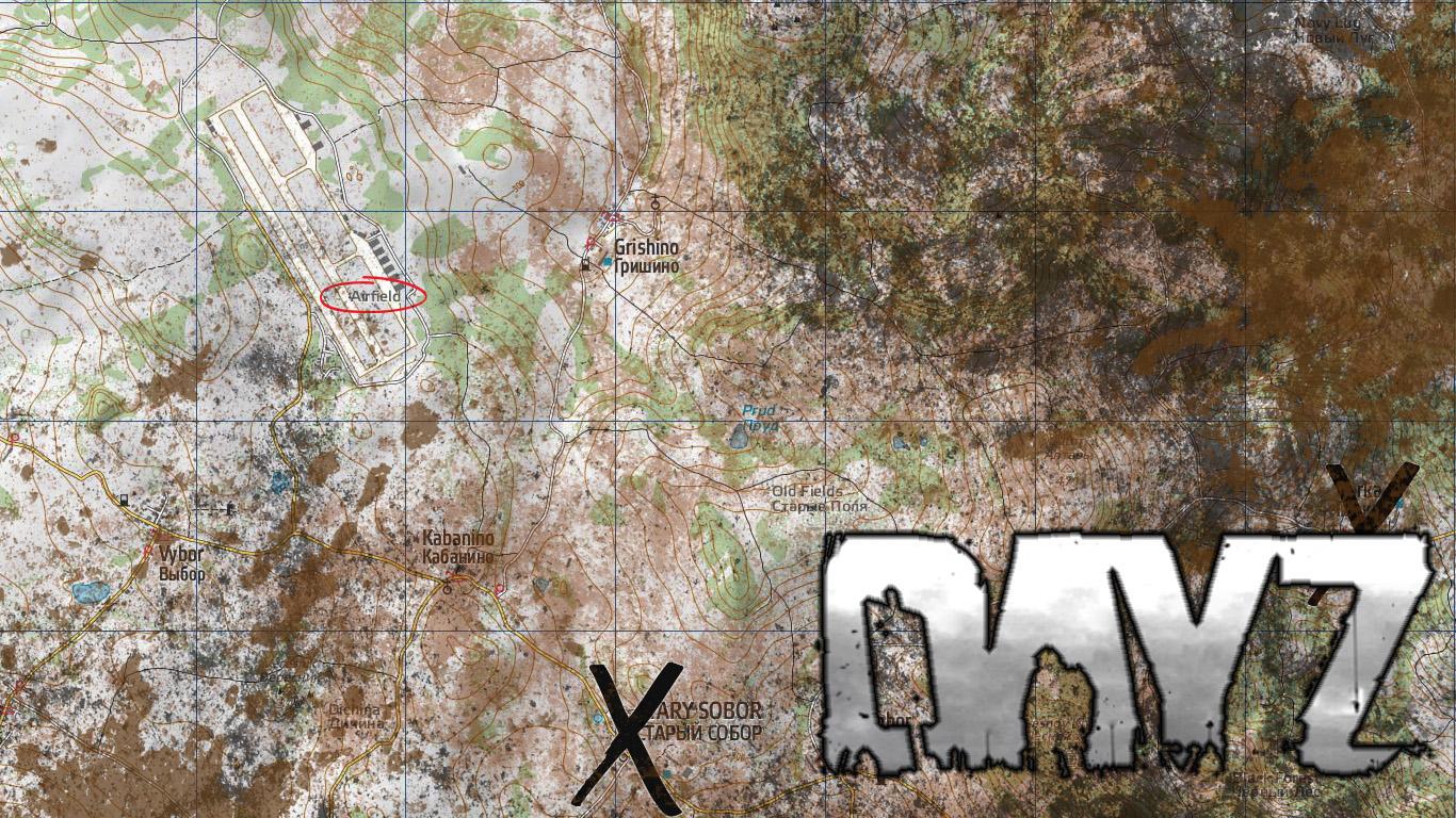 Group of Dayz Map Wallpaper