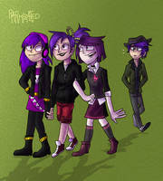 Purple Haired People