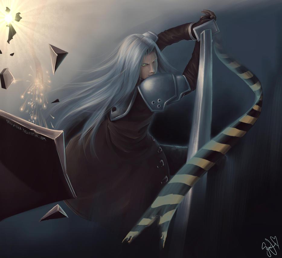 Sephiroth by Prosaiska