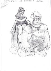 Belle and Wreck It Ralph
