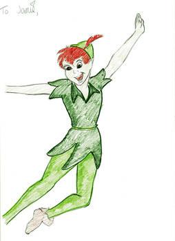 Peter Pan Christmas Present