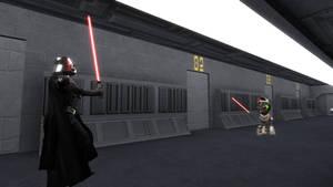 King Sombra meets Darth Vader