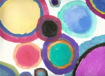Bubbles of Color
