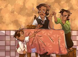 Familia SanJuan 1: Galletas