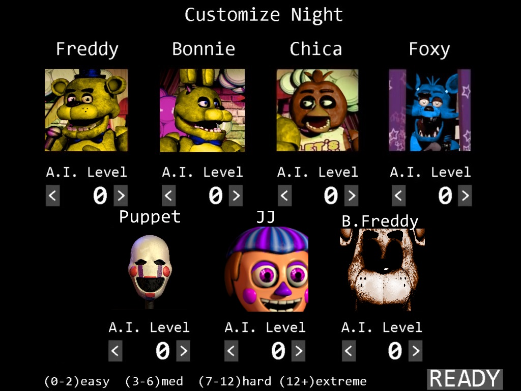 Fredbear s familly diner custom night screen by a battery on