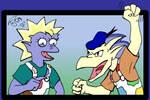 February 08: Cartoon Parodies