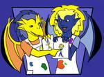 Jan 09: Artists as Gargoyles 2