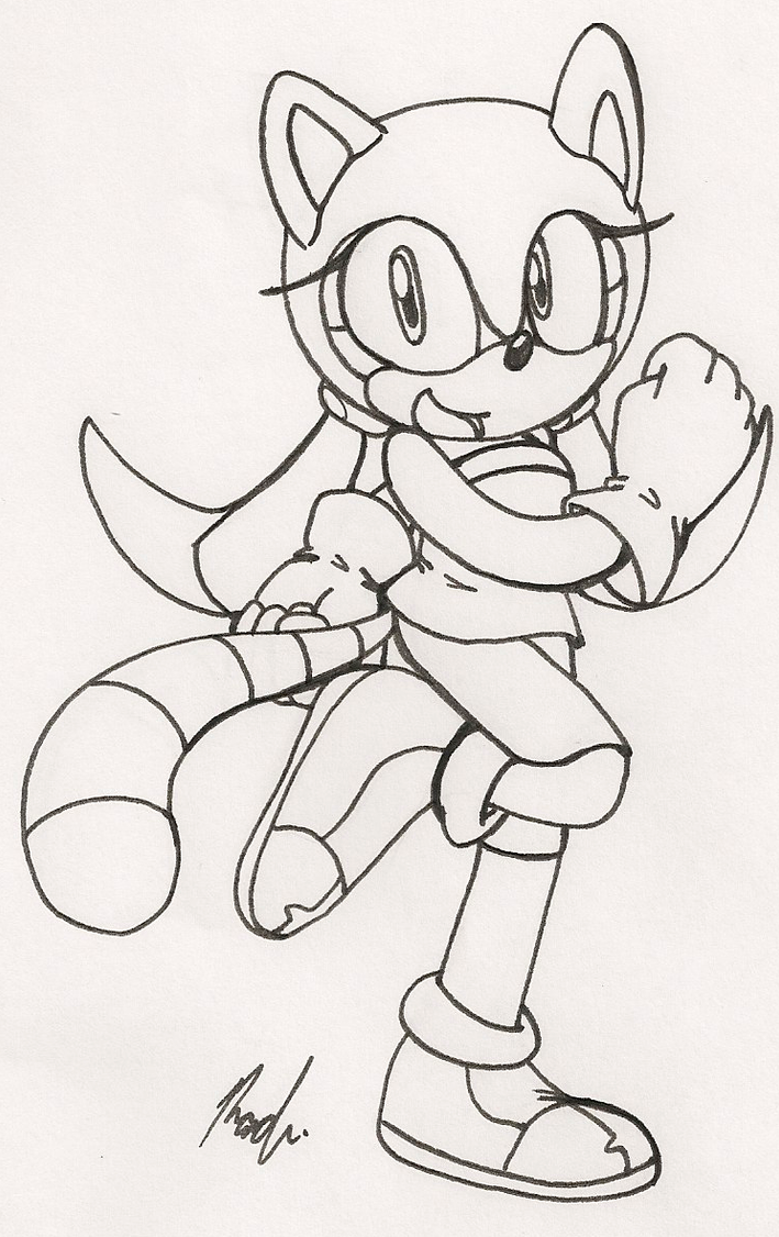 Marine the raccoon pages coloring pages for Marine coloring pages