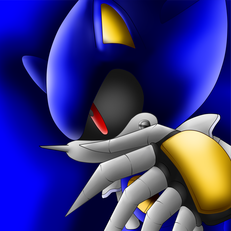 Metal Sonic: His Shadow by IkaritheHedgehog