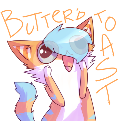 Butter'd Toast- //PC by memedokis