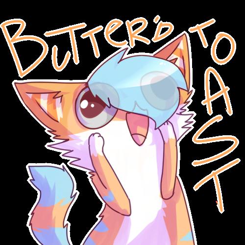 Butter'd Toast- //PC by rizusaur