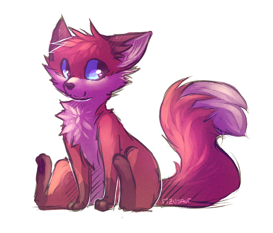 messy mess fox mess by rizusaur