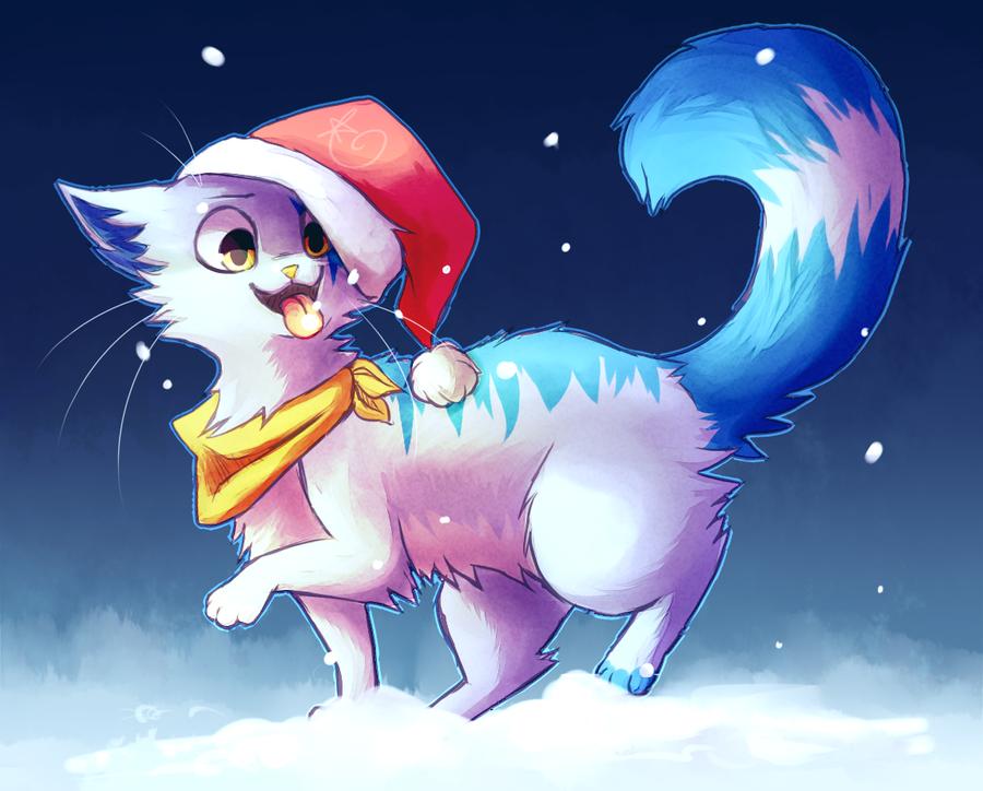 Secret Santa!! by rizusaur