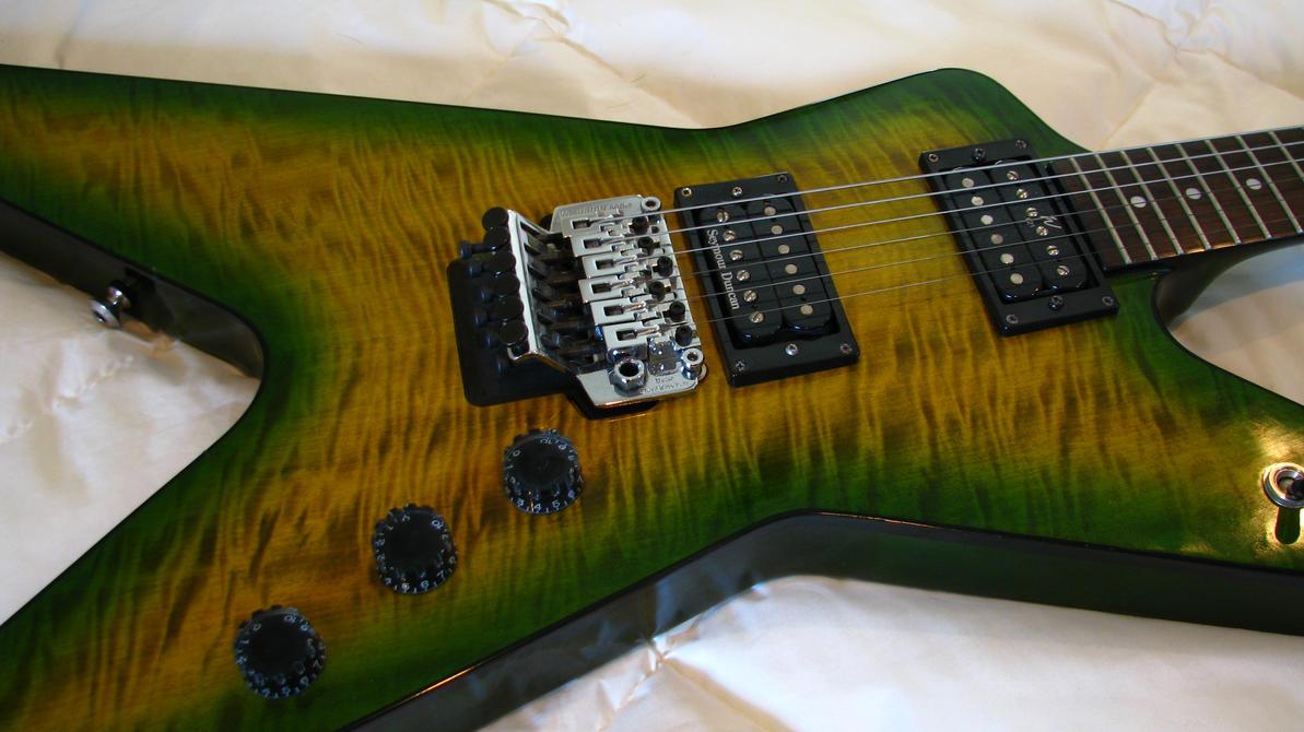 dimebag darrel signature washburn 333 guitar by stephanpartipilo on deviantart. Black Bedroom Furniture Sets. Home Design Ideas