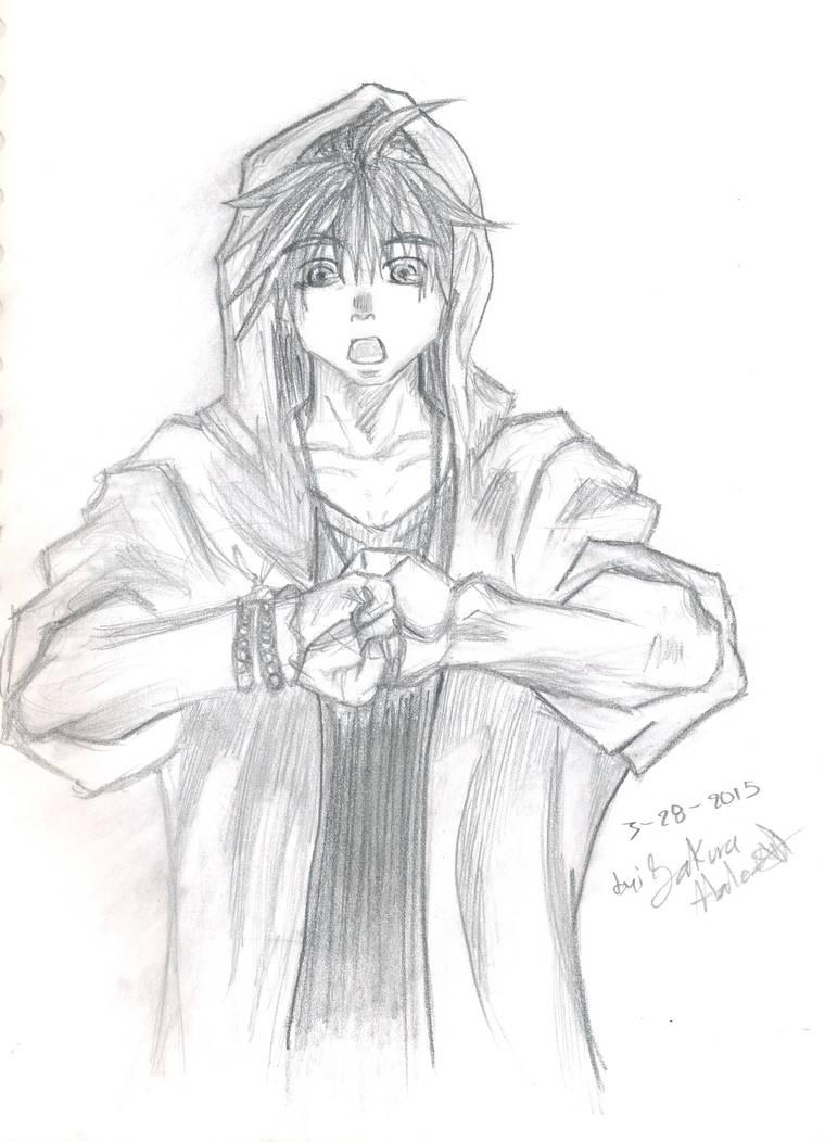 Saiyuki Goku Dibujo Lapiz By Sakurahale On Deviantart