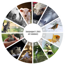 2018 summary of art by sourpepper