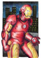Iron Man by DynamicFlamez