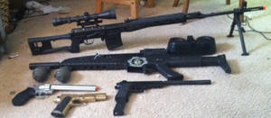 My Airsoft guns. by TheFunnyAmerican