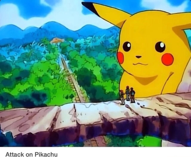 Attack On Pikachu By Thefunnyamerican On Deviantart