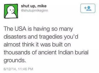 Indian Burial Grounds. by TheFunnyAmerican