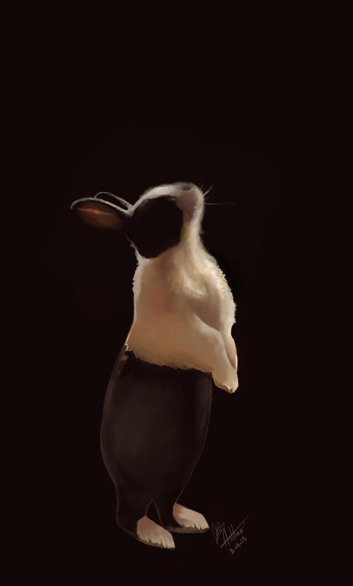 Bunny Dancer by Gailrin