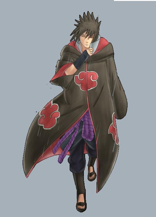 Taller Hanzou y Gaara Gaiden - Página 3 Sasuke_akatsuki_by_sageofthetoad-d42867r