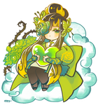 Extra Chibi for Green Rose