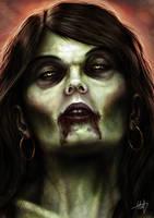 Zombie-girl by Fenris-V