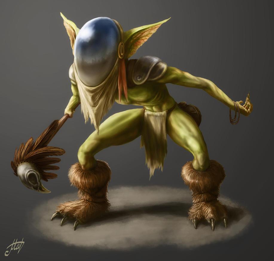 Goblin Hypnotizer by Fenris-V