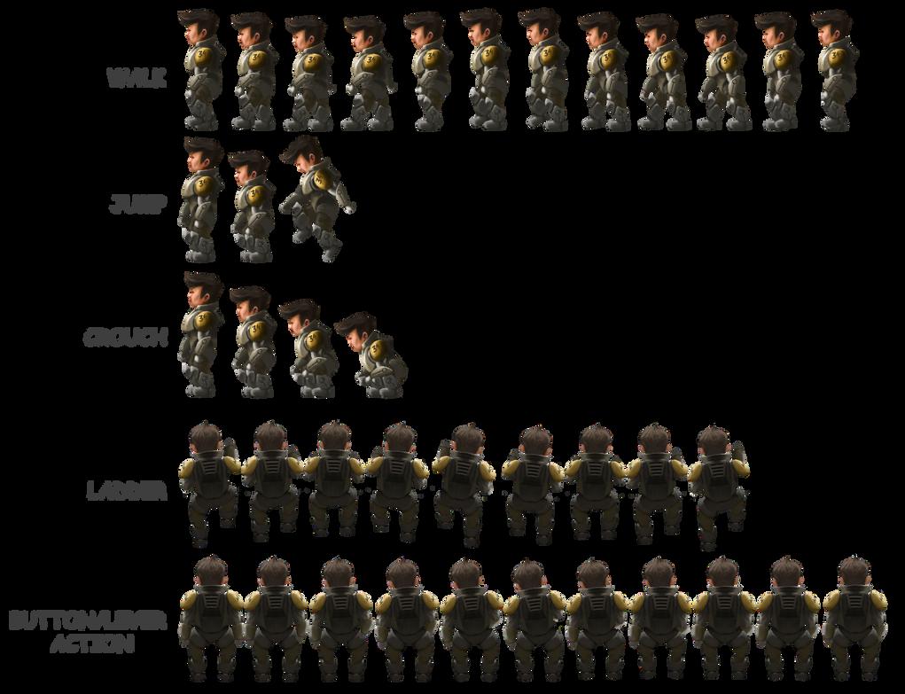 Kuwirama character sprite sheet by Fenris-V on DeviantArt