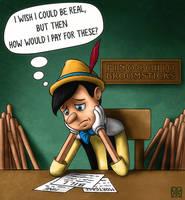 Pinocchio by Fenris-V